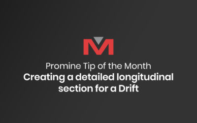 Creating a detailed longitudinal section for a Drift | Promine Tip of the Month