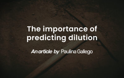 The importance of predicting dilution