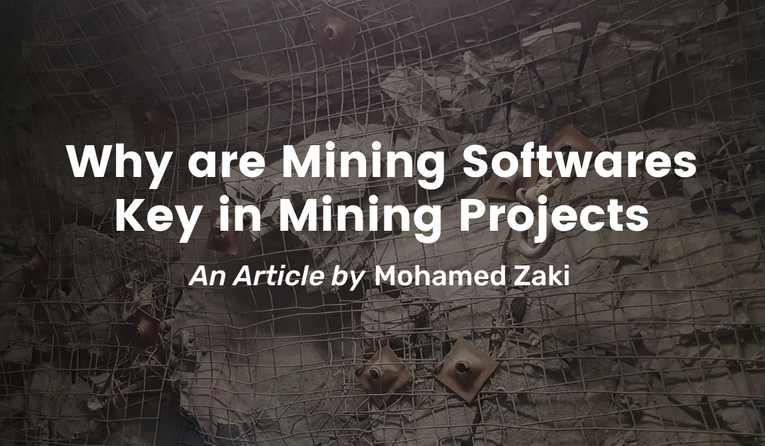 Why are Mining Software Key in Mining Projects